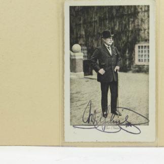 Postkarte, Kaiser Wilhelm, koloriert, mit Originalunterschrift, nicht gelaufen, www.beyreuther.de